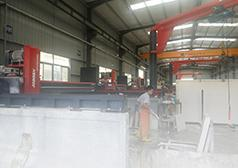 Wanli Stone Group purchased CNC granite cutting machine