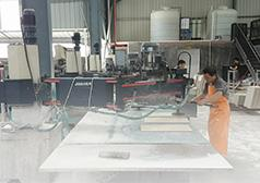 Hongyi Aceart bought stone polishing machine